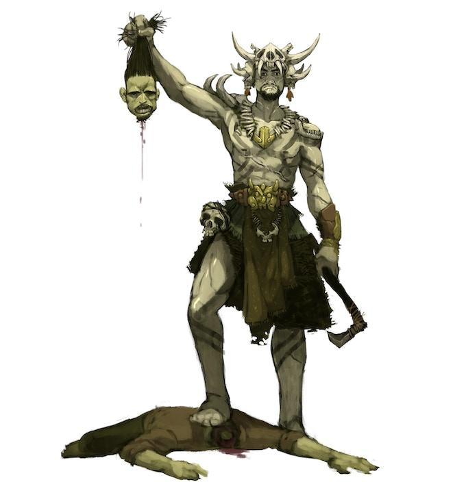the Cannibal King, by Arthur Asa