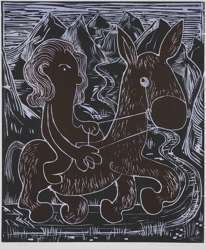 """Nicole Eisenman's """"Crossing the Alborz"""""""