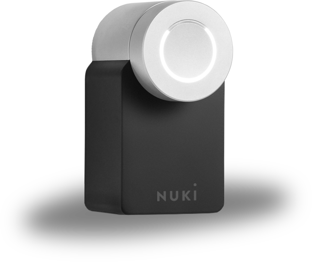 Nuki is the smart lock for Europe. It opens your door when you come home and locks it when you leave.