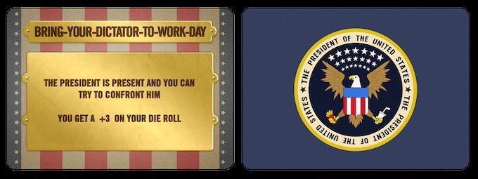 Presidential Card