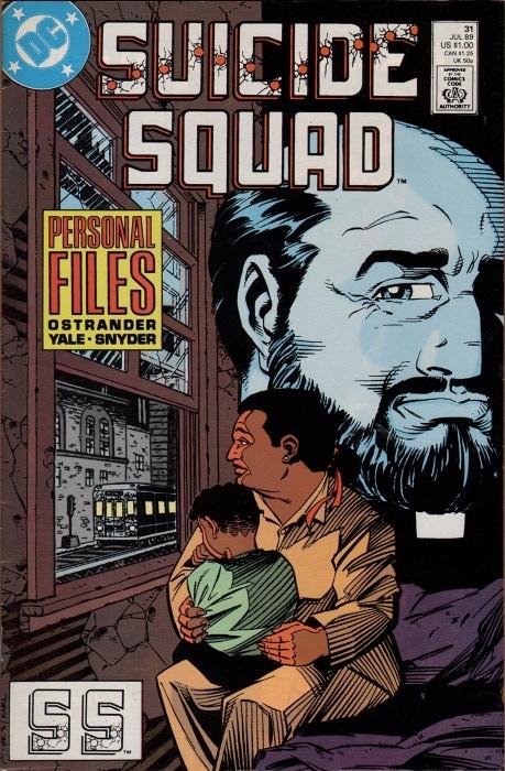 Signed copy of Suicide Squad #31!