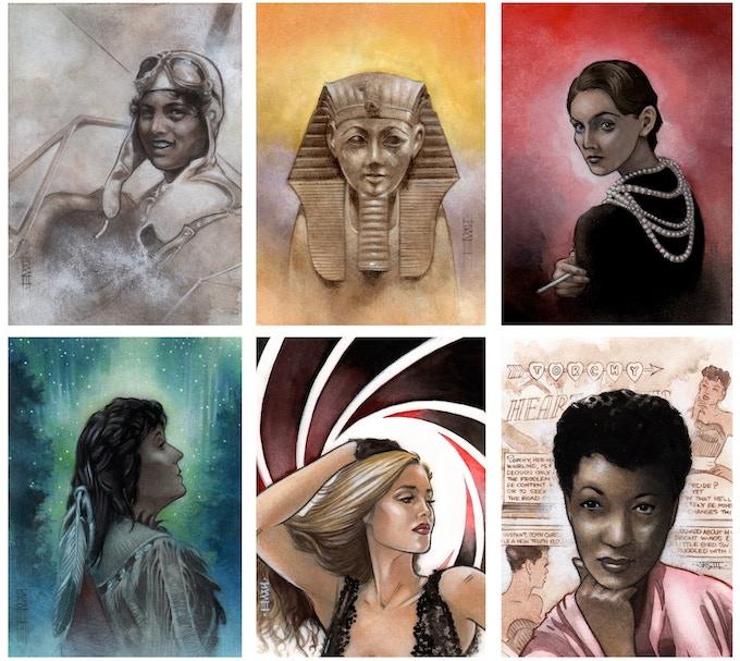 Original art you'll receive!