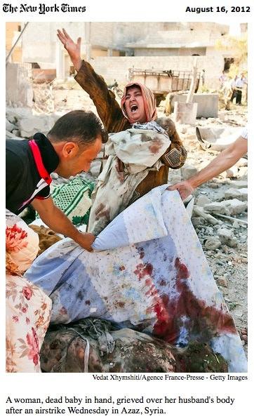 Azaz, Syria - August 2012 [©Vedat Xhymshiti]