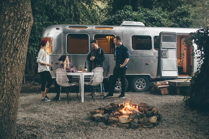 Autocamp A Modern Airstream Getaway In The Bay Area By