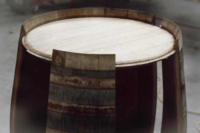 Unravelling a French Oak Seresin wine-barrel