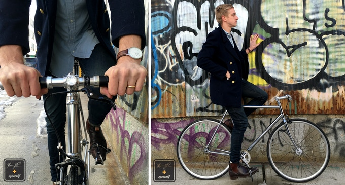 #NYC's sexiest bike, Chromeo