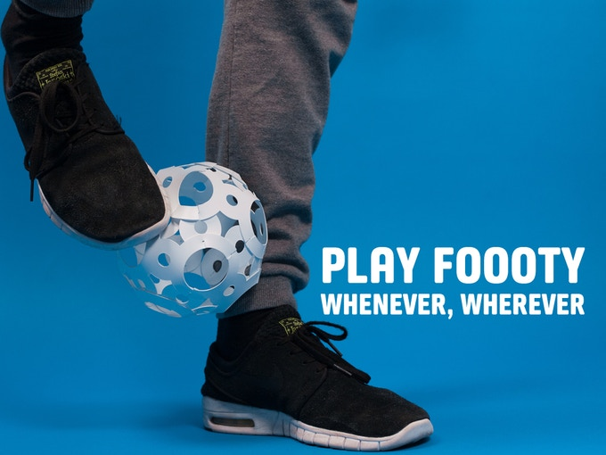 The ball you can take anywhere