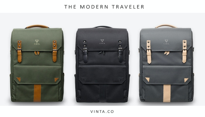 A travel and camera bag designed to be different. Not just a backpack, its a bag for our everyday adventures. VINTA's the S | Series.