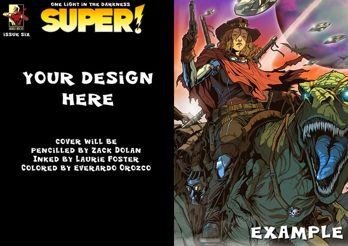 Design Your Own Issue 6 Cover!