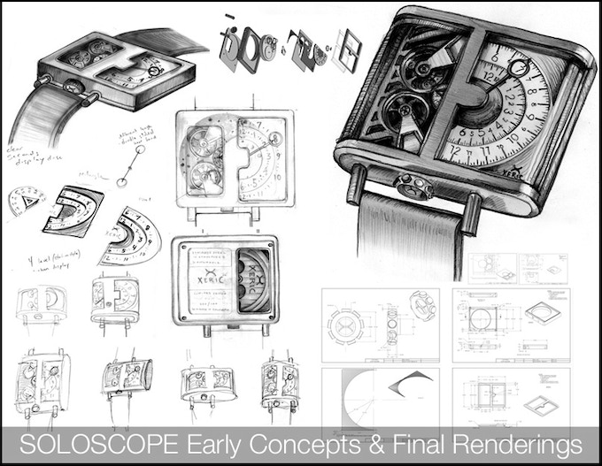 The SOLOSCOPE Automatic Watch by XERIC: Time to go Solo