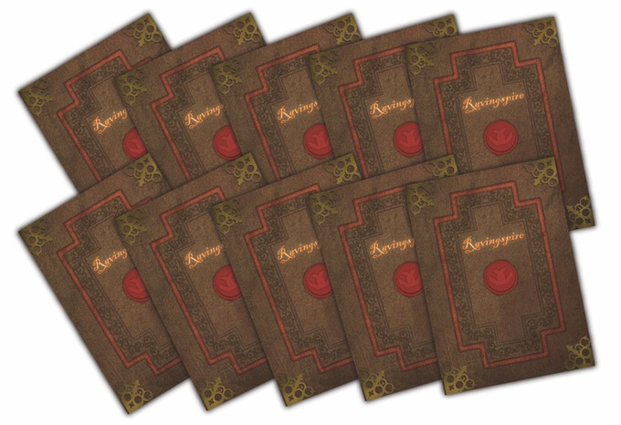 Ravingspire Boardgame FIve Extra Endings