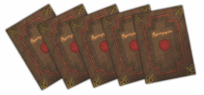 Ravingspire Boardgame Sealed Spire Cards