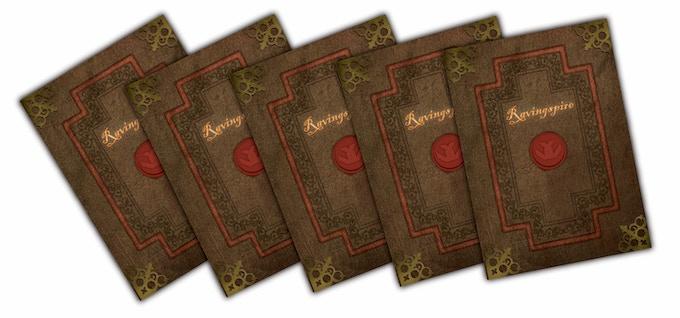 Ravingspire Boardgame Sealed Spire Cards