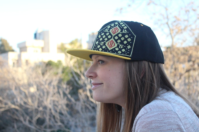 A snapback hat keeps your hair looking good ...right?