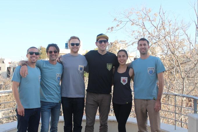 "Our friends in Amman rocking the ""beta test"" Herfa gear"