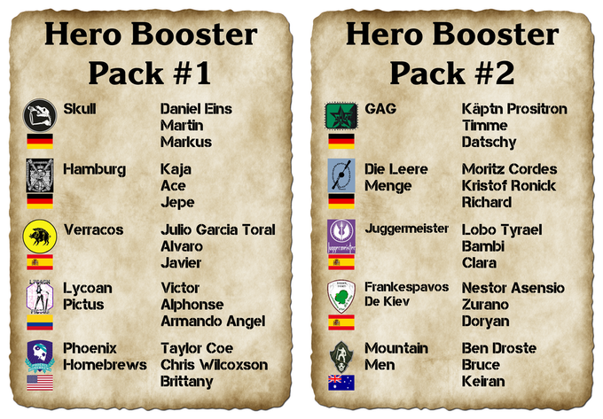 Grab these 2 booster packs to grow your game and enhance your fun!