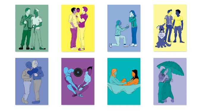 Love Wins Postcards