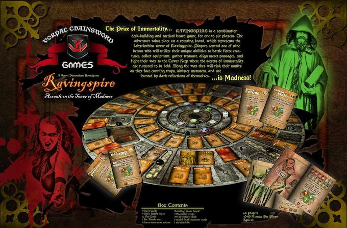 Ravingspire Boardgame