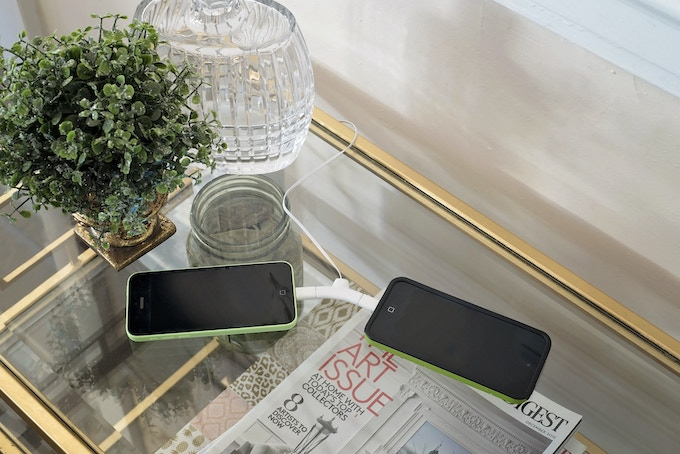 Charge TWO devices at once!