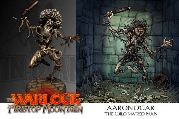 Fighting Fantasy: The Warlock Of Firetop Mountain by Tin Man