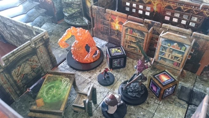 Askrias cube can be used to keep track of various buffs or debuffs in Dungeons and Dragons (Or any sort of board games) Dungeon Masters can use the cubes to create trap triggers or treasure drops!