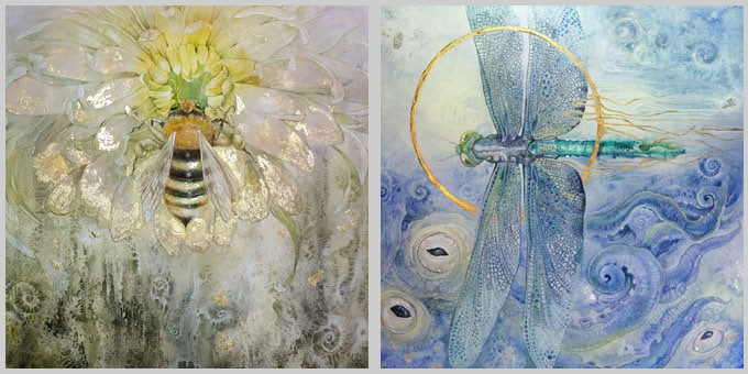 Examples from my Insecta Series
