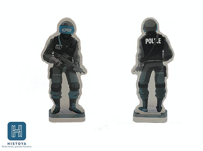 Clément le policier du RAID - HIP 0002