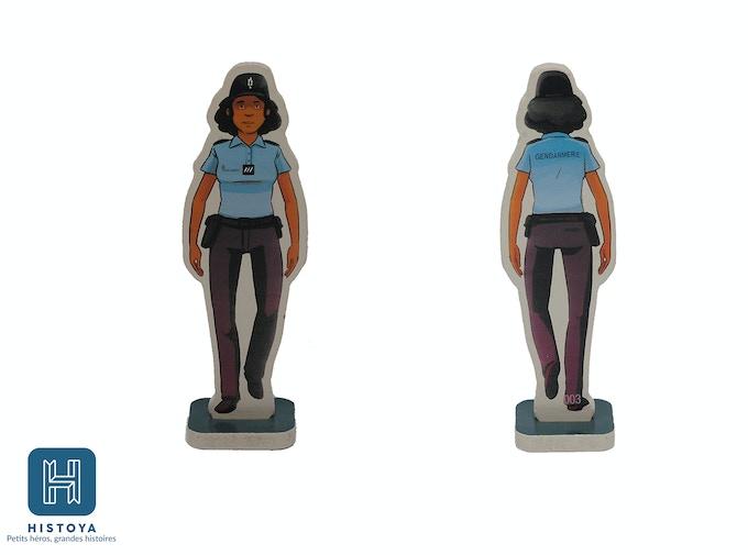 Yasmine the policewoman - HIP 0003