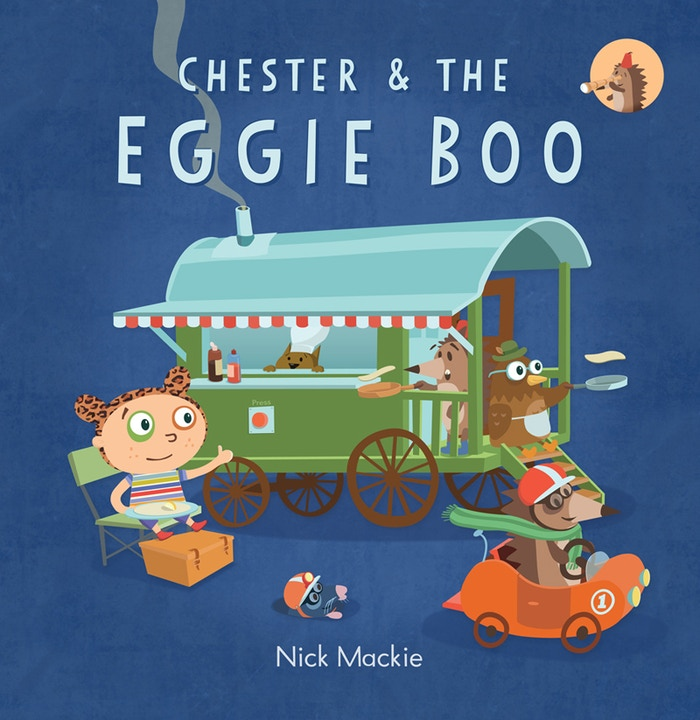 Eggie Boo is a book and animated film. Please help me to make a brand new fun and exciting children's book.