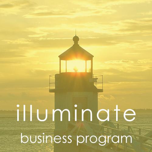 illuminate group coaching program for women in biz