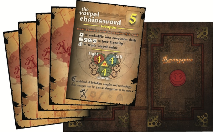 Kickstarter Exclusive Vorpal Chainsword Expansion Pack