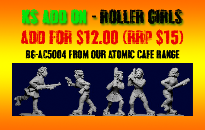 AC5004 The Roller Girls