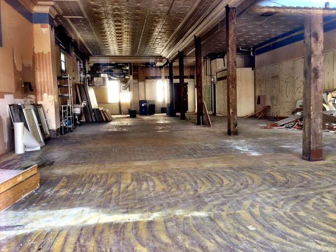 Our Whole Space, Demolition is DONE!!!