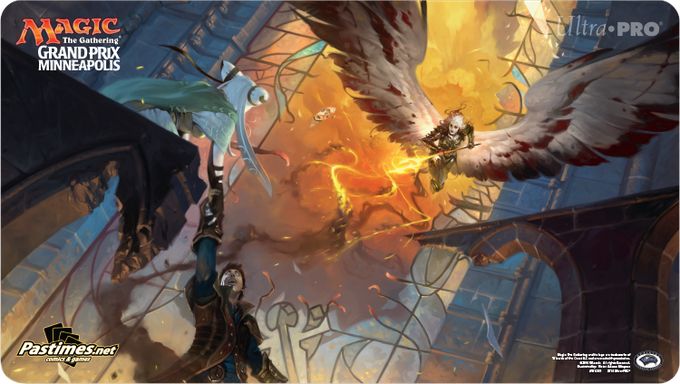 GP attendee playmat.  Art by Victor Adame Minguez