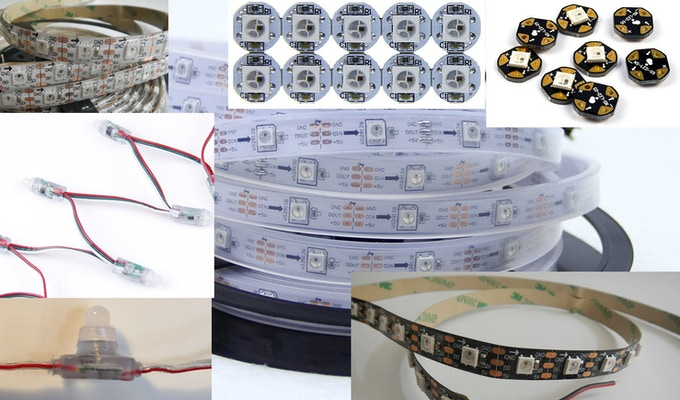 Various WS2812B LED Lights