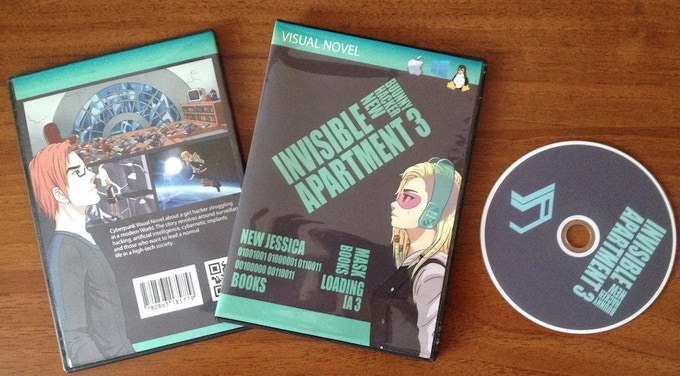 Invisible Apartment 3 DVDs