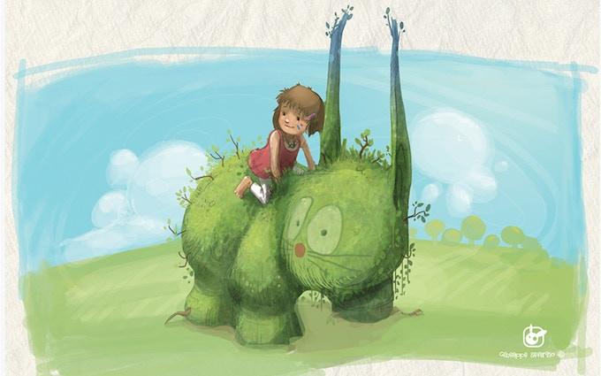 Artwork from Giuseppe's blog - CartoonBox