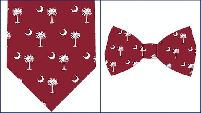 South Carolina State Flag - U. of SC colors