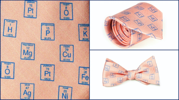 Periodic Table of Elements - Peach