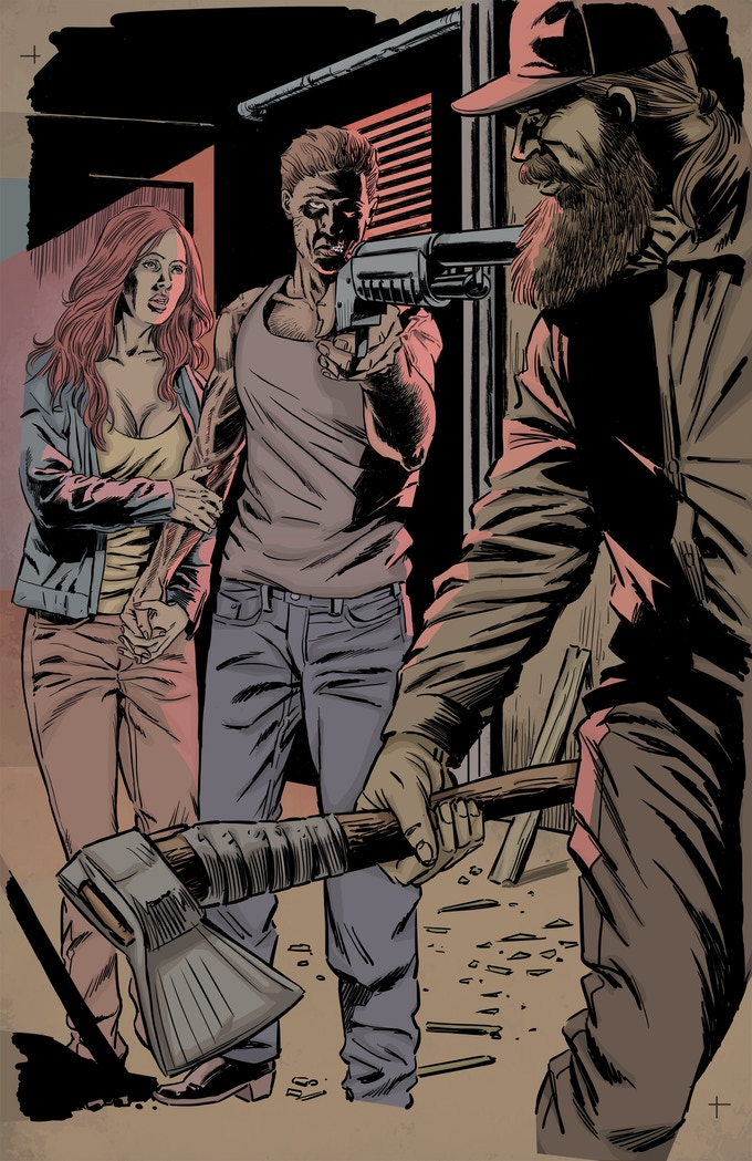 Zombie with a Shotgun ~ ArtWork