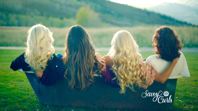 Savvy girls want healthy curls! Join the healthy hair revolution with Savvy Curls!