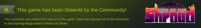 City of the Shroud was Greenlit in just 3 weeks!