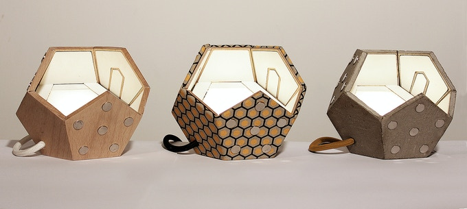 DTWELVE LAMP The modular magnetic lighting system by Plato