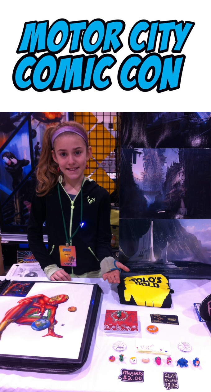 Motor City Artist Alley Table
