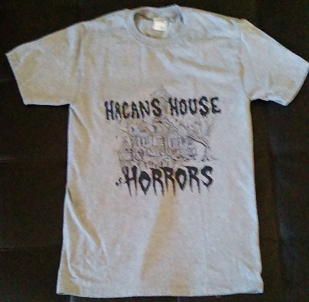 Hagan's House of Horrors Logo T-Shirt (Adult Sizes S-4X)