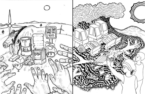 Page Drafts by Jerome Chester & Aaron Goldman