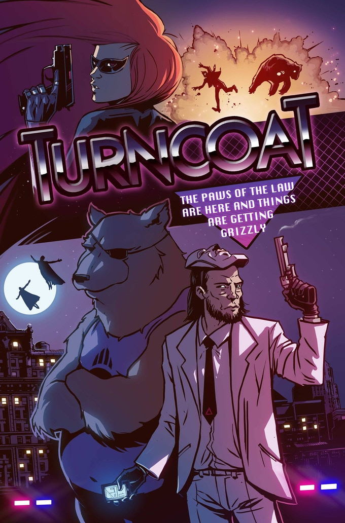 Limited edition TURNCOAT print by Caspar Wijngaard