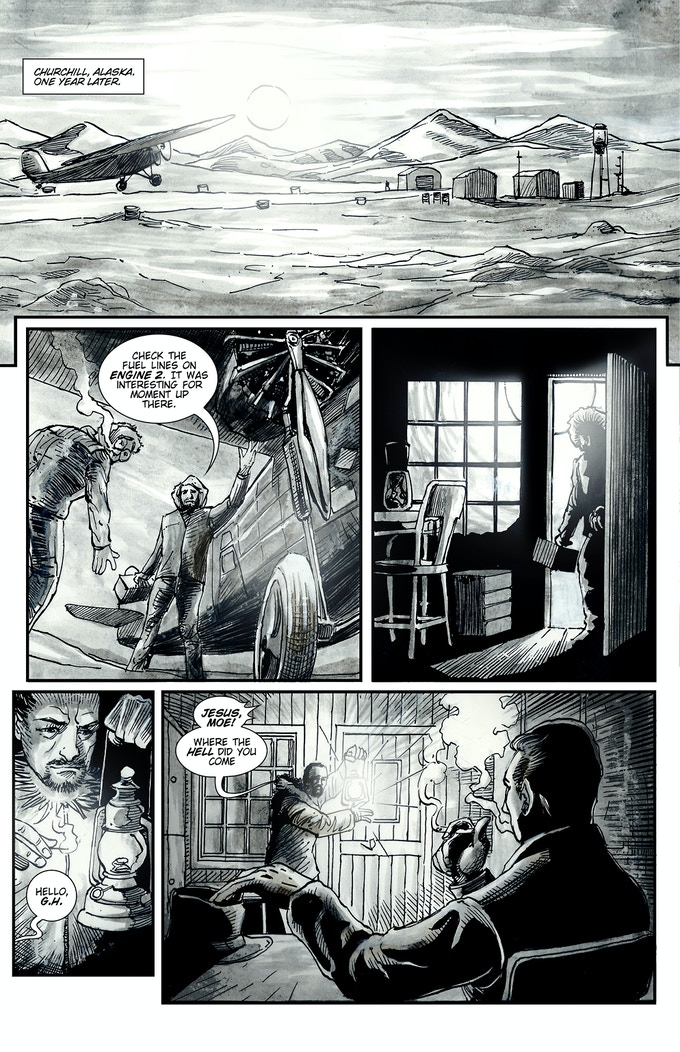 Dubious Tales, Issue #1, page 4