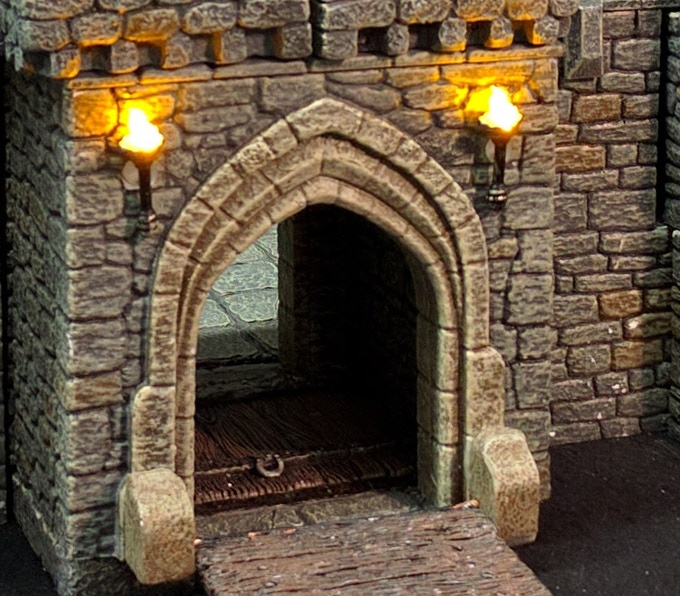 Lighted Gatehouse Arch (our $1MM Stretch Goal)