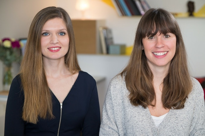 Sandra Zeller et Célia Bonahon